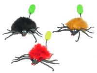 Pavouk 10 cm skákací - mix barev
