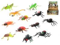 Hmyz strečový 8-13 cm - mix variant či barev