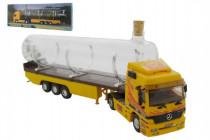 Stavebnice Monti 55/1 Souvenir Truck 32cm sběratelský model+ skleněná lahev