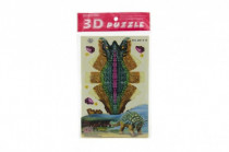 3D puzzle dinosaurus skládačka papírové v sáčku - mix variant či barev
