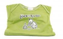Dětské body Mayaka s krátkým rukávem The Lord of the Rings - zelené