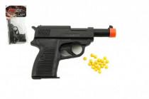 Pistole na kuličky plast 14cm