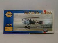 Model Sopwith Camel 12,7x18cm