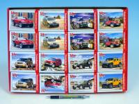 A-08521-M Minipuzzle Auta 54 dílků 16,5x11cm - mix variant či barev