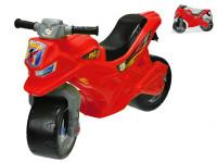 Motorka odrážedlo červené 68x48x29 cm max. 30 kg