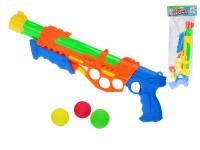 Pistole na kuličky/vodní pistole 2 v1 48 cm - mix barev