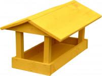 Krmítko pro venkovní ptactvo - č. 10, velké žluté