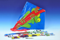 Drak létající plast 72x68cm - mix variant či barev - VÝPRODEJ
