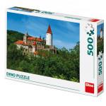 Puzzle hrad Křivoklát 47x33cm 500 dílků