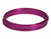 Drát dekorační hliníkový růžový 10m 5mm