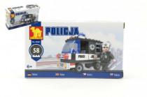 Stavebnice Dromader Policie Auto 23201