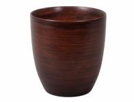 Obal na květník KODET WOOD keramický matný d20x21cm