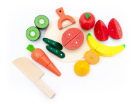 Sada ovoce a zeleniny na krájení - dřevěnámontessorihračka