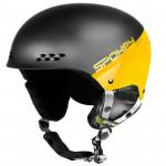 Spokey APEX lyžařská přilba černo-žlutá, vel. L/XL