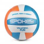 Spokey FUN IV volejbalový míč modro-oranžový vel. 5