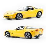 RC model Chevrolet Corvette C6 GS 1:12, žlutá metalíza, Rastar - VÝPRODEJ