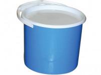 vědro s víkem 5l plastové - mix barev