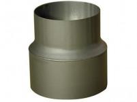 redukce trubková 200/160mm (d.160mm) t.1,5mm ČER