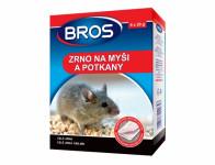 Rodenticid BROS zrno na myši a potkany 6x20g