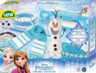 Studio pletení: pletací stůl Frozen/Ledové království plast s doplňky