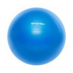 Spokey Fitball III gymnastický míč 65 cm včetně pumpičky modrý