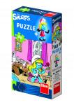 Puzzle 60 dílků Šmoulové - mix variant či barev