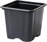 Květináč - kontejner, měkký plast 7x7x8 cm - 10 ks - VÝPRODEJ