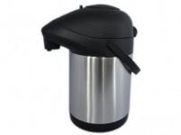 termoska s pumpičkou 2,5l nerez+ plastová