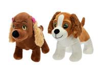 Pes plyšový stojící 20 cm - mix variant či barev