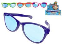 Legrační brýle 26 cm - mix barev