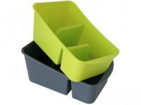 kuchyňský organizér 25x15x10 PH - mix barev