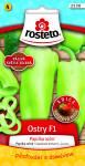 Rosteto Paprika zeleninová pálivá F1 - Ostry F1 na pole i k rychlení 10s - VÝPRODEJ