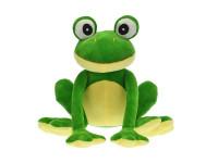 Žába plyšová 25 cm sedící