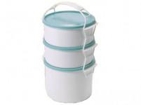 jídlonosič COMBI 2x1l + 1,5l plastový