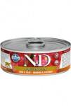 N&D CAT QUINOA Herring & Coconut 80g