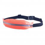 Spokey TURBO Ledvinka na běhání oranžová nepromokavá s reflexními prvky