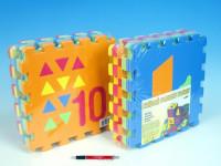 Pěnové puzzle Počítání/Tvary 30x30cm
