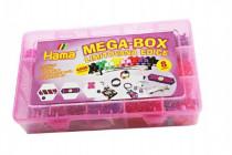 Zažehlovací korálky Mega box + přívěsky a doplňky 4000ks v plastovém boxu