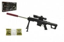 Pistole skládací plast 72cm na měkké vodní kuličky 7-8mm
