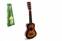 Kytara dřevo/kov 53cm