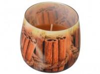 svíčka vonná sklo SKOŘICE 100g (hoří 20hod)
