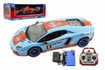 Auto RC sport racing plast 40cm na baterie + dobíjecí pack 2 barvy