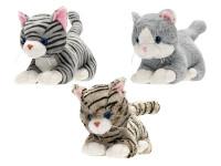 Kočka plyšová 35 cm ležící - mix variant či barev