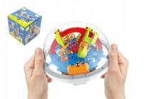 Hlavolam edukační koule 100 kroků plast 12cm CZ design