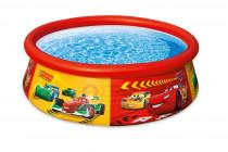 Bazén Cars 185x51 cm