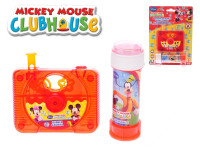 Mickey Mouse a Minnie bublifuk kamera 10x8 cm 60 ml