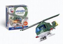 Stavebnice Cheva 46 Vrtulník vojenský plast