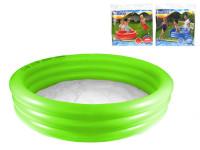 Bazén nafukovací 3 komory 102x25cm 110L - mix barev