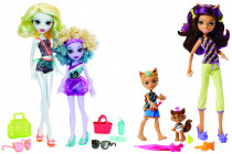 Monster High sourozenci monsterky 2 ks - mix variant či barev