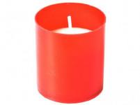 svíčka hřbitovní náhradní 4,7cm 30g (hoří 10x9hod) paraf. ČRV (10ks)